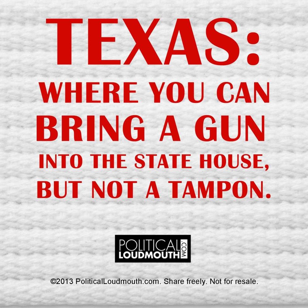Texas Tampon Gun